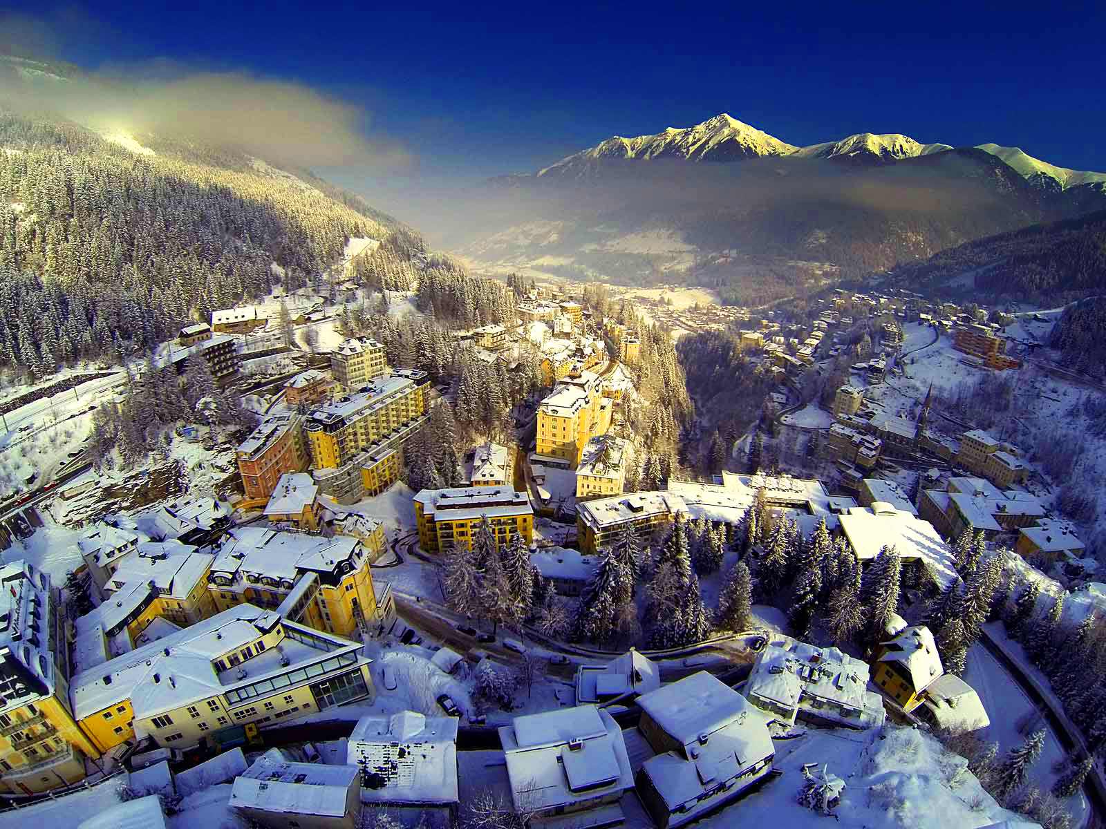 Photos Of Snow Holidays In Bad Gastein In The Austrian Alps
